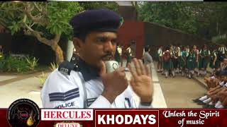 Students Get Lessons From Traffic Police On Road Safety