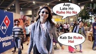 Urvashi Rautela SWEET Gesture Towards Reporter At Airport