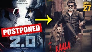 ROBOT 2.0 Postponed, Rajnikanth's Kaala To Release On 27th April 2018