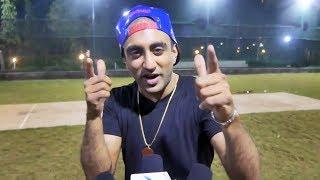 Akash Dadlani At BCL Team Kolkata Baabu Moshayes Cricket Practice