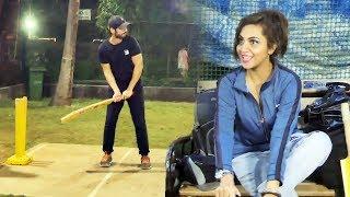 Arshi Khan At BCL Team Kolkata Baabu Moshayes Cricket Practice