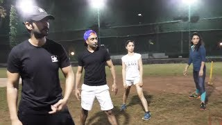 Hiten Tejwani, Akash Dadlani And Arshi Khan Exercise On Field | Kolkata Baabu Moshaayes