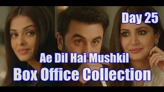 Ae Dil Hai Mushkil Box Office Collection Day 25