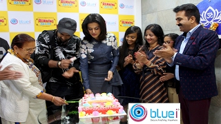 Bluei Corporate office inaugurated by Taapsee Pannu and Amit Sadh in Crown Heights Rohini | Delhi