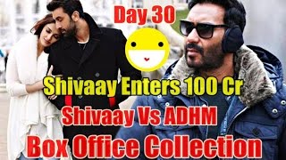 Shivaay Vs Ae Dil Hai Mushkil Box Office Collection Day 30