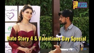 Urvashi Rautela Exclusive Interview | Hate Story 4 | This Valentines I Will Celebrate Hate Not Love
