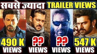 Top 5 Most Liked Bollywood Trailer | Tiger Zinda Hai, Baahubali 2, Raees, Shivaay, Padman