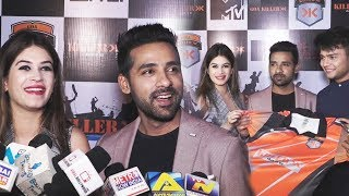 Puneesh Sharma And Bandagi Kalra At Goa Killer Jersey Launch | BCL 2018 | Box Cricket League 2018