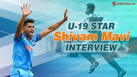 EXCLUSIVE: U19 cricketer Shivam Mavi talks about Rahul Dravid's dance and more!