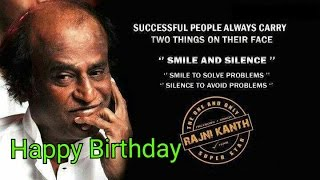 Rajinikanth Birthday