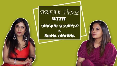 Break Time : Richa Chadha & Shibani Kashyap Enact Temptations Of Social Media