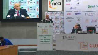 Ashish Bahuguna, Chairperson, FSSAI at FOODWORLD India 2018