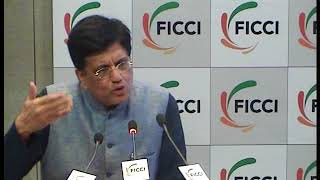Minister Piyush Goyal at Post #Budget2018 Talk at FICCI