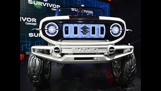 e-Survivor- All you need to know about Maruti Suzuki's first EV | Auto Expo 2018