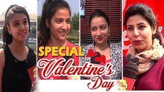 Valentine's day special - Girls  REACTION for her Valentine | BEST OR WORST VALENTINE ?
