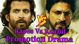 Raees Vs Kaabil Promotional Clash