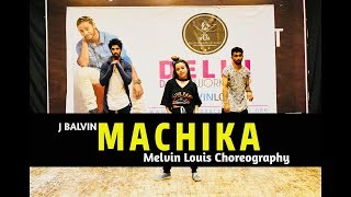 J. Balvin - Machika | Melvin Louis Choreography | Western Dance Academy