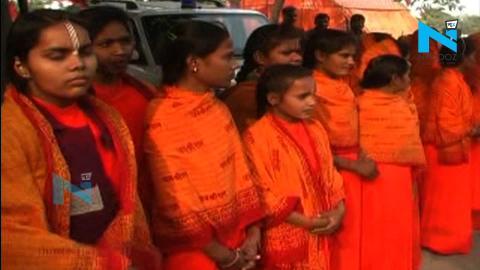 अयोध्या मंदिर निर्माण के लिए रथयात्रा, और हरी झंडी दिखाने नहीं पहुंचे सीएम योगी