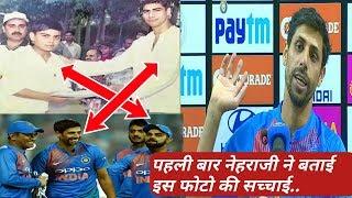 Ashish Nehra talking about his viral pic with Virat Kohli- My Cricket Family