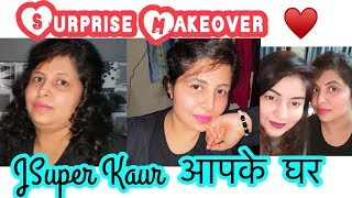 Surprising my Subscriber - Real Valentine's Day - Giving Makeover | JSuper Kaur