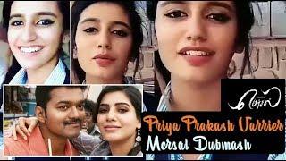 Priya Varrier mersal dubmash | Priya Varrier vijay mersal dubmash