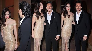 Tiger Shroff Celebrates Valentines Day With Disha Patani - Spotted At Dinner Date