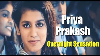 Priya Prakash Varrier Became an Overnight Sensation for her Flirtatious Wink || Bollywood Bhaijan
