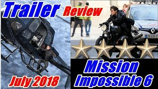 Mission Impossible Fall Out Trailer Review I Tom Cruise