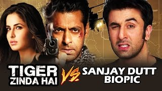 Tiger Zinda Hai Vs Dutt Movie Clash- Clash Of Titans