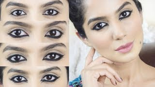 HOW TO APPLY KAJAL IN DIFFERENT WAYS / BOLLYWOOD INSPIRED EASY EVERYDAY KAJAL LOOKS