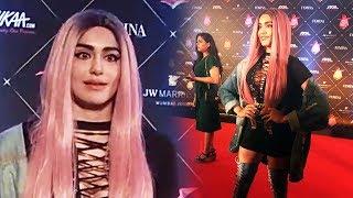Stunning Adah Sharma At Red Carpet Of Nykaa Femina Beauty Awards 2018