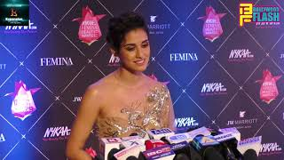 Disha Patani's Beautiful Looks At Nykaa Femina Beauty Awards 2018