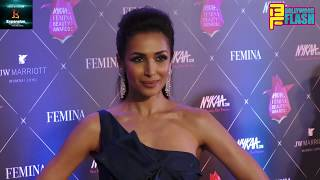 Malaika Arora Khan At The Red Carpet Of Nykaa Femina Beauty Awards 2018