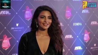 Stunning Shama Sikander At Nykaa Femina Beauty Awards 2018