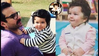 Taimur Ali Khan Looks Super Cute In This Latest Picture || Taimur Ali Khan Cute Expressions