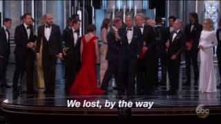Oscars 2017 goof-up
