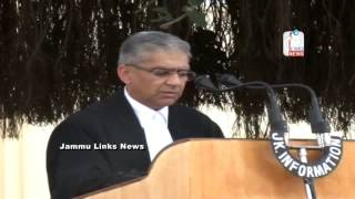 Governor administers oath to Justice Ahmed as Chief Justice of J&K High Court