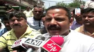 Panthers Party block National Highway, demands regular supply of water for Udhampur district