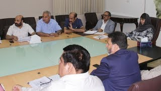 Mehbooba Mufti reviews progress on projects in Health, Edu, Tourism, Hort sectors