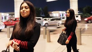 Bhumi Pednekar Spotted At Airport
