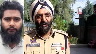 Newly-recruited Lashkar militant arrested in Kashmir's Sopore: J&K Police
