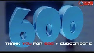 THANK YOU FOR 600 SUBSCRIBERS || KKD NEWS || KHABRO KI DUNIYA