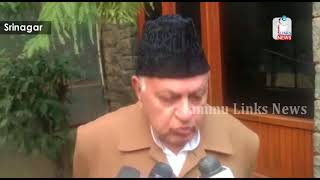 Farooq suggests J&K interlocutor should also hold talks with Pakistan to resolve Kashmir issue