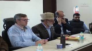 NC meet reiterates resolve to protect J&K's special status