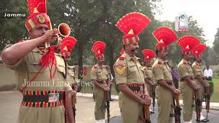 Floral tributes paid to martyred BSF jawan in Jammu