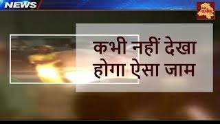 Kawad Mela - दिल्ली में कांवड़ मेला के चलते लगा चक्का जाम    Delhi Darpan TV