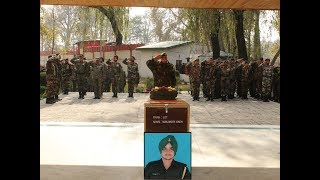 Army pays tribute to soldier martyred in Kashmir gunfight