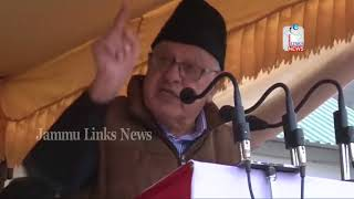 India should give up pursuit of acquiring PoK, Farooq Abdullah reiterates his stand on Kashmir