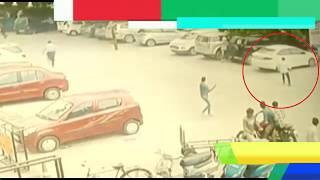 Ghaziabad News - सीसीटीवी में कैद हुआ लाइव मर्डर || युवक को लगी 5 गोलियां || Delhi Darpan Tv ||