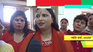 Rohini News : Women celebrate Rakshabandhan with Delhi Police || Prashant Vihar || DELHI DARPAN tv